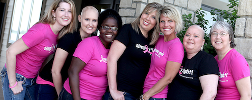 Breast Cancer Support - Pink Ribbon Girls