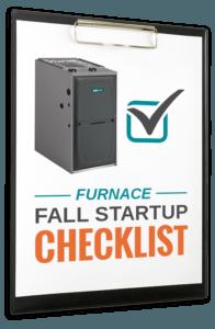 fall furnace startup checklist