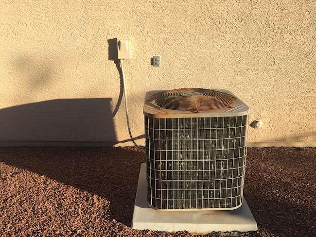 noisy air conditioner unit