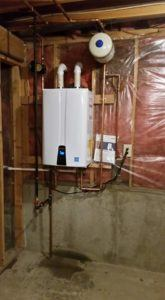 Navien Tankless Water Heater Install